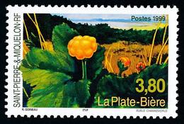 ST-PIERRE ET MIQUELON 1999 - Yv. 688 **   Faciale= 0,58 EUR - Flore. La Plate-bière  ..Réf.SPM12207 - Neufs