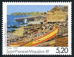 ST-PIERRE ET MIQUELON 1999 - Yv. 687 ** Faciale= 0,79 EUR - Expression Artistique 'La Grève De L'île ...' Réf.SPM12202 - Unused Stamps