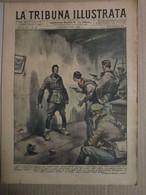 # LA TRIBUNA ILLUSTRATA N 40 / 1942 FUCILAZIONE DI MILITE BATTAGLIONE CAMICIE NERE - Guerra 1939-45