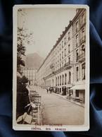 Photo CDV  Lafon à Pau  Hotel Des Princes  Eaux Bonnes  CA 1880 - L315 - Oud (voor 1900)