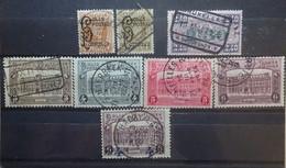 BELGIE Spoorwegen 1924-33    TR 167 / 168-69 / 170-73 En 174     Gestempeld   CW 39,00 - 1923-1941