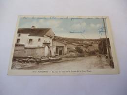 CP 70  -  Purgerot , La Rue Du Veau Et La Ferme De La Grand' Vigne - Other Municipalities