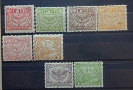 BELGIE Spoorwegen 1920  Samenstelling  TR 100 / 101 / 104 / 106 / 109 / 114 / 87 En 122 Zie Foto Scharnier * CW112,00 - 1895-1913