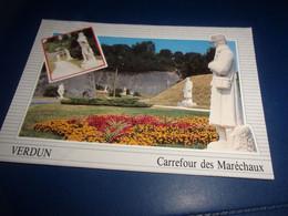 CPA CPSM  MEUSE VERDUN  CARREFOUR DES MARECHAUX - Verdun