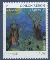 N° 4542 Odilon Redon Faciale 1,40 € - Nuovi