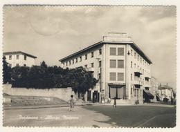 ALBERGO MODERNO - Pordenone - Viaggiata Il 7/1/1952 (2 Immagini) - Hoteles & Restaurantes