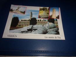 CPA CPSM  MEUSE VERDUN   LES ANNEES  DE FEU - Verdun