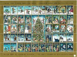 Denmark; Christmas Seals.  Full Sheet 1993;  MNH (**). - Fogli Completi