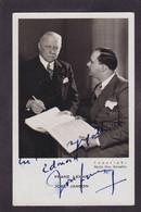 CPA Autographe Signature à L'encre Dédicace Franz LEHAR Et José JANSON Non Circulé Musiciens - Handtekening