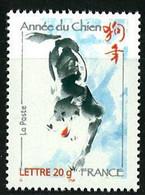 N° 3865 Année Du Chien Faciale LP 20g - Nuovi
