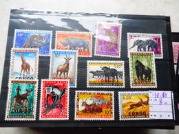 Congo Belgique Belgisch 400/411 Neuf ** Dieren Animaux Animals - 1947-60: Ongebruikt
