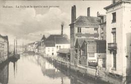 België - Malines Mechelen - La Dyle Et Le Marche Aux Poissons  -  1911 - Zonder Classificatie