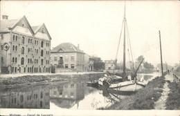 België - Malines Mechelen - Canal De Louvain Leuven - -  1908 - Zonder Classificatie