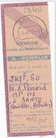Coupon De Mandat Santo 1972 Pontorson Manche Nouvelles Hebrides - Briefe U. Dokumente