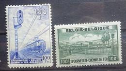BELGIE Spoorwegen 1942-46    TR 263  /  TR  294    Scharnier *   CW 26,75 - 1942-1951