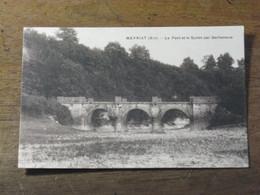 MEYRIAT / Le Pont Et Le Suran Par Sécheresse - Otros Municipios