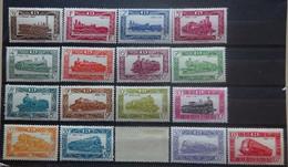 BELGIE Spoorwegen 1949    TR 304 - 320     Scharnier *   CW 110,00 - 1942-1951