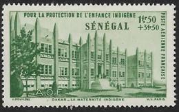 SENEGAL  1942 -  PA 18  - Protection De L'enfance  - NEUF* - Unused Stamps