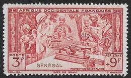 SENEGAL  1942 -  PA 20  - Protection De L'enfance  - NEUF* - Unused Stamps