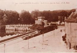 La Clayette Le RSL (Saône Et Loire) - Copie De Carte Postale 10 X 15 - Bahnhöfe Mit Zügen