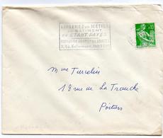 France N° 1231 Y. Et T. Haute Vienne Limoges Gare Flamme Illustrée Du 03/11/1962 - 1961-....