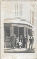 """DAMVILLE -- Carte Photo - Magasin """"MOUCHARD """" -Angle Rue De La Géole - Sonstige Gemeinden"""