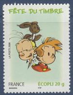 N° 3878 Du Carnet Fête Du Timbre Spirou Valeur Faciale Ecopli 20g - Unused Stamps