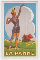 La Panne  De Panne  Publiciteitskaart Voor La Panne  LITHO - De Panne