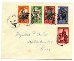 Veldpost Vrijwilligers Legioen Vlaanderen 1942 - Cartas