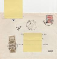 TAXE 87x2  20F. GERBES - Taxe à 40f. Du 7.10.59 - 1960-.... Cartas