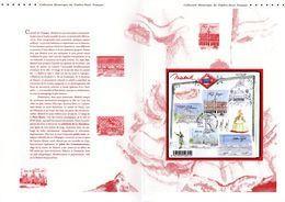 """"""" MADRID / CAPITALE EUROPEENNE """" Sur Document Philatélique Officiel De 4 Pages De 2013 N° YT F4730. Parfait état. DPO - 2010-...."""