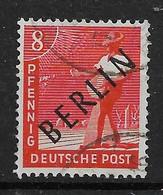 Berlin  3 O - Oblitérés