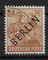 Berlin  9 O - Oblitérés
