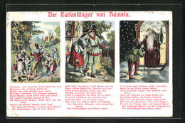 AK Der Rattenfänger Von Hameln - Fairy Tales, Popular Stories & Legends