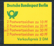 Berlin Markenheftchen 9 C I MZ ** Mi. 80,- - Carnets