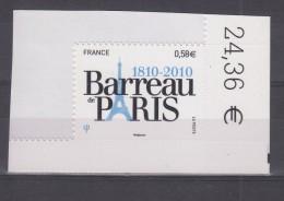 Barreau De Paris  AUTO ADHESIF N°508 -  2010   Neuf **   Grande Marge - Adhesive Stamps