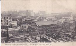 Cpa: 75 PARIS - SOCIETE DES CHARBONNIERS - Port Du Quai De La Loire 46 Et 48  (lot Pat 132 ) - Bergbau