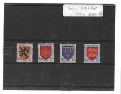 FRANCE  -  TIMBRES  SERIE   N°  602  à  605  -  (  Neufs  Sans    Charnière  ) - Unused Stamps