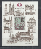 POLAND 1981 - KRAKOW - MINISHEET - MNH MINT NEUF NUEVO - Schlösser U. Burgen