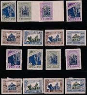 1937. * SELLOS LOCALES-Sofima-Fesofi: PI DE LLOBREGAT 5/12, 5/12s - SH - Vignetten Van De Burgeroorlog