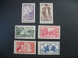 AEF Afrique Equatoriale  N° 27 à 32   Exposition Internationale 1937    Série Complète    Neuf * - Ongebruikt