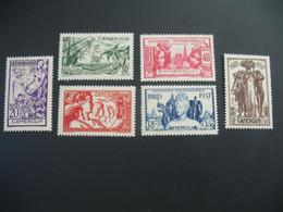 Cameroun N° 153 à 158  Exposition Internationale 1937    Série Complète    Neuf * - Ongebruikt