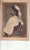 Photo Fin 1800 - Italie :  Veroli Près De Frosinone - Portrait D'une Femme -Ritratto Di Una Donna - Antiche (ante 1900)