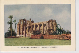 1955 CIPRO CATTEDRALE  DI FAMAGOSTA - Zypern