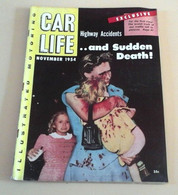 Rare Revue Automobile Américaine Car Life Novembre 1954 Delahaye 235 Design Automobile Farina Hell Drivers Cascadeurs - Other