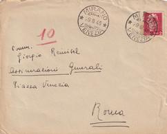 LUOGOTENENZA _ MIRANO Per ROMA 29.8.1945 - Storia Postale