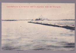 VICOGNE - STUYVEKENSKERKE - Inondation À La Ferme Aux Trois Pignonssud De Vicogne - Diksmuide