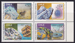 Chile, 1996, Minerals MNH - Minerali