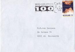 Nederland - Vlagstempel - Nederlandse Vereniging Voor Neurologie 100 Jaar - Postal History