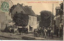CARRIERES Sous BOIS - Carte Animée Avenue Du TIR COMMUNAL - Otros Municipios